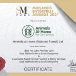 Jul21334-Midlands Enterprise Awards 2021 Certificate